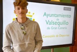 El Ayuntamiento de Valsequillo felicita al futbolista Pablo Rodríguez