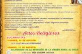 Consulte los actos de las Fiestas de San Roque y de Nuestra Señora del Socorro 2020 en Valsequillo de G.C.
