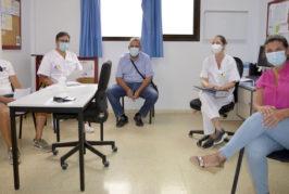 El Ayuntamiento, Centro de Salud y Policía Local se unen para controlar los brotes en Valsequillo