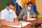 El Ayuntamiento de Valsequillo y Aguas de Telde firman un convenio para crear un fondo social de abasto de agua dirigido a familias en situación de vulnerabilidad