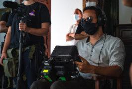 Comienza el rodaje de la película «La piel del volcán» en Telde y Valsequillo