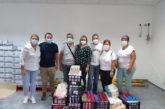 El personal de la UCI del Hospital Insular dona productos no perecederos a la despensa municipal de Valsequillo