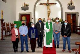 La parroquia del Valle de San Roque ya tiene nuevo sacerdote tras la jubilación de Don Eugenio Peñate Suárez