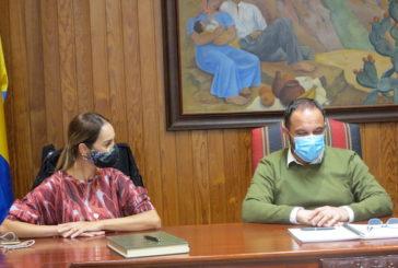 Cabildo y ayuntamiento de Moya acuerdan la coordinación de los actos del próximo Centenario del fallecimiento de Tomás Morales