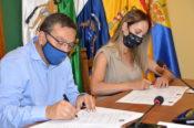 Valsequillo recibió la visita de la Consejera Insular de Cultura, Guacimara Medina