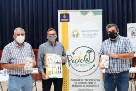 """""""Valsequillo, recicla por la naturaleza"""" es el lema de la campaña sobre la importancia del reciclaje"""
