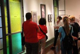 Casi mil personas visitan en un mes la exposición 'La verdad humana' en la Casa-Museo Pérez Galdós