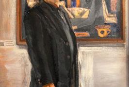 El artista Javier Jiménez exhibe 'Padronianos', una ofrenda pictórica al artista Antonio Padrón