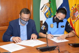 La Policía Local de Valsequillo incorpora a la agente María del Carmen Ojeda