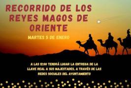 Los Reyes Magos recorrerán todos los barrios de Valsequillo