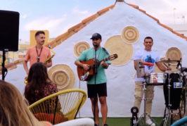 Kilombo Improvisado, el grupo que debutó en Valsequillo, ya triunfa con su primera canción en redes sociales