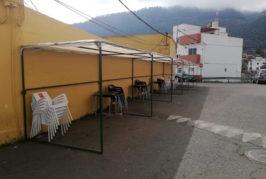Valsequillo utiliza los ventorrillos de la fiesta del Almendrero en Flor para crear terrazas a los bares y restaurantes del municipio