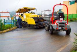 Otros 8,3 kilómetros de mejoras en las vías de Valsequillo