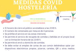 Valsequillo recuerda las medidas que debe adoptar el sector de la hostelería durante el nivel 3