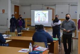 """El alcalde de Valsequillo y el concejal de Desarrollo Local visitan el PFAE """"Valsequillo Inteligente"""""""
