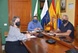 """El Ayuntamiento de Valsequillo y la Asociación Empresarial """"El Tajinaste Azul"""" trabajan para promocionar el comercio de proximidad"""