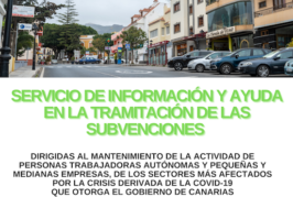 Valsequillo ofrece un servicio de asesoramiento gratuito a las PYMES y autónomos del municipio que necesiten ayuda para realizar la subvención del Gobierno de Canarias