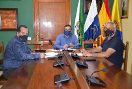 El Ayuntamiento de Valsequillo y la Asociación de Vinos de Medianías se reúnen para potenciar el sector