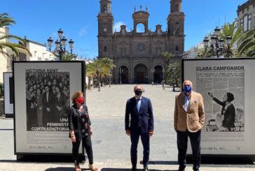 Las Palmas inaugura en las Casas Consistoriales la exposición fotográfica y documental que ilustra la II República en la capital grancanaria