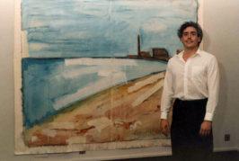 El crítico de arte Samir Delgado imparte una charla sobre el Faro de Maspalomas visto por el pintor grancanario Juan Hernández