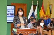 Leticia Ortega tomó posesión como concejala del Ayuntamiento de Valsequillo en sustitución de Paco Galván