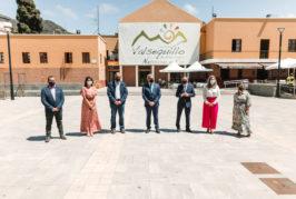 Valsequillo recibe la visita del Vicepresidente del Gobierno de Canarias