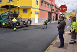 60.000 euros para el nuevo plan de asfaltado