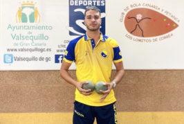 Juan Gabriel Pérez, convocado para disputar el campeonato regional de Bola Canaria