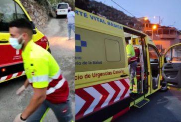Las ambulancias continúan con problemas de acceso en el barrio de San Roque