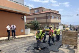 Valsequillo sigue adelante con su plan de asfaltado del municipio