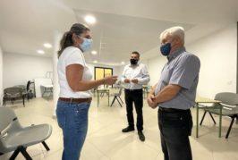 El consejero de Cooperación Institucional visita la mejora y adaptación del edifico polifuncional de Valsequillo