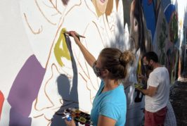 Las fachadas de Valsequillo se convierten en lienzos de expresión cultural