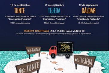 Tunte, Tejeda y Gáldar disfrutan de la iniciativa 'Arte para el camino' que produce La Tournée de L´Art