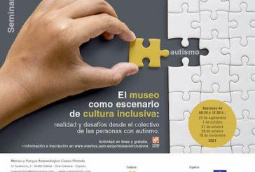 Cueva Pintada acoge el primer seminario 'El museo como escenario de cultura inclusiva', centrado en las personas con autismo