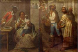 El ciclo 'Miradas a la colección' acerca al público dos cuadros de pinturas de castas realizados en México en el siglo XVIII