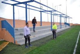 """Denuncian otra """"chapuza"""" del Ayuntamiento de Valsequillo, esta vez en el campo de fútbol"""